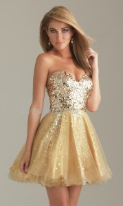 sexy-gold-ball-gown-sparkly-sequins-cocktail-dress-cd2c70