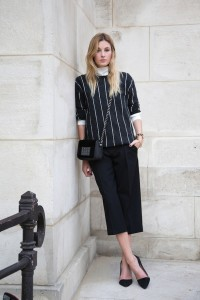 STREET STYLE CULOTTES BLOGGER Camille Charriere